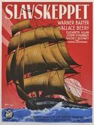 Slave Ship - Swedish Movie Poster (xs thumbnail)