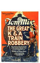 The Great K & A Train Robbery - Movie Poster (xs thumbnail)