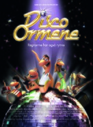 Disco ormene - Danish Movie Poster (xs thumbnail)