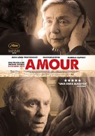 Amour - Mexican Movie Poster (xs thumbnail)