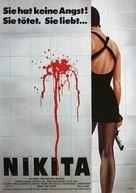 Nikita - German Movie Poster (xs thumbnail)