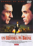 A Bronx Tale - Spanish DVD movie cover (xs thumbnail)