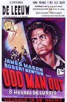 Odd Man Out - Belgian Movie Poster (xs thumbnail)