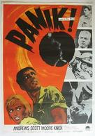 Crack in the World - Swedish Movie Poster (xs thumbnail)