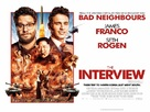 The Interview - British Movie Poster (xs thumbnail)