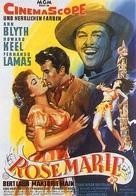Rose Marie - German Movie Poster (xs thumbnail)