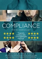 Compliance - Swedish Movie Poster (xs thumbnail)