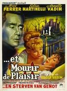 Et mourir de plaisir - Belgian Movie Poster (xs thumbnail)