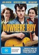 Nowhere Boy - Australian DVD cover (xs thumbnail)