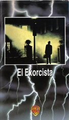 The Exorcist - Spanish VHS movie cover (xs thumbnail)