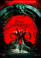 El laberinto del fauno - German Movie Cover (xs thumbnail)