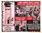 Two Thousand Maniacs! - British Movie Poster (xs thumbnail)