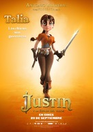 Justin and the Knights of Valour - Spanish Movie Poster (xs thumbnail)