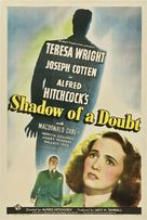Shadow of a Doubt - Theatrical movie poster (xs thumbnail)