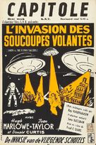 Earth vs. the Flying Saucers - Belgian Movie Poster (xs thumbnail)