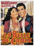 La belle de Cadix - Belgian Movie Poster (xs thumbnail)