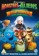 Monsters vs Aliens: Mutant Pumpkins from Outer Space - British DVD cover (xs thumbnail)