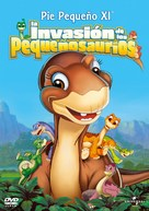 The Land Before Time XI: Invasion of the Tinysauruses - Argentinian Movie Cover (xs thumbnail)