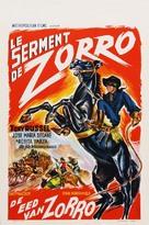 El Zorro cabalga otra vez - Belgian Movie Poster (xs thumbnail)