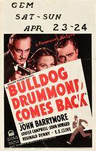 Bulldog Drummond Comes Back - Movie Poster (xs thumbnail)