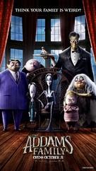 The Addams Family - Singaporean Movie Poster (xs thumbnail)