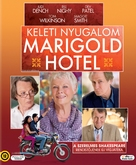 The Best Exotic Marigold Hotel - Hungarian Blu-Ray cover (xs thumbnail)