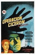 5 Fingers - Spanish Movie Poster (xs thumbnail)