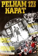 The Taking of Pelham One Two Three - Swedish Movie Poster (xs thumbnail)