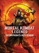 Mortal Kombat Legends: Scorpions Revenge - DVD movie cover (xs thumbnail)