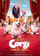 The Queen's Corgi - German Movie Poster (xs thumbnail)