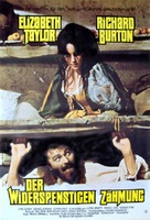 The Taming of the Shrew - German Theatrical poster (xs thumbnail)