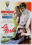 Perla, La - Spanish Movie Poster (xs thumbnail)