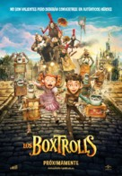 The Boxtrolls - Spanish Movie Poster (xs thumbnail)