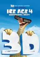 Ice Age: Continental Drift - Dutch Teaser movie poster (xs thumbnail)