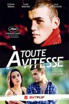 À toute vitesse - French DVD cover (xs thumbnail)