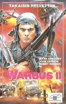 Afganistan - The last war bus (L'ultimo bus di guerra) - Finnish VHS movie cover (xs thumbnail)