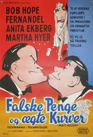 Paris Holiday - Danish Movie Poster (xs thumbnail)