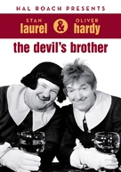 The Devil's Brother - British DVD cover (xs thumbnail)