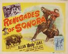 Renegades of Sonora - Movie Poster (xs thumbnail)