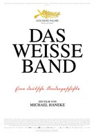 Das weiße Band - Eine deutsche Kindergeschichte - German Movie Poster (xs thumbnail)
