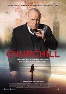 Churchill - Mexican Movie Poster (xs thumbnail)