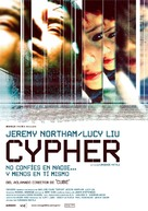 Cypher - Spanish Movie Poster (xs thumbnail)