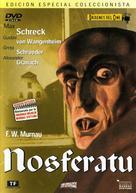 Nosferatu, eine Symphonie des Grauens - Spanish DVD cover (xs thumbnail)