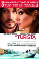 The Tourist - Brazilian Movie Poster (xs thumbnail)
