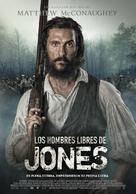 Free State of Jones - Spanish Movie Poster (xs thumbnail)