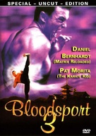 Bloodsport III - German DVD cover (xs thumbnail)