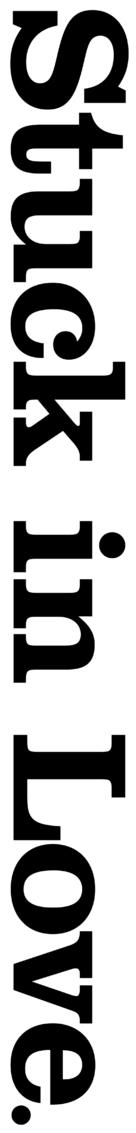 Stuck in Love - Logo (xs thumbnail)