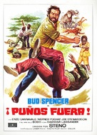 Piedone l'africano - Spanish Movie Poster (xs thumbnail)