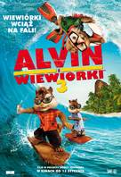 Alvin and the Chipmunks: Chipwrecked - Polish Movie Poster (xs thumbnail)