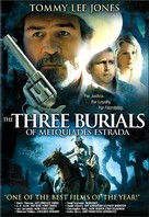 The Three Burials of Melquiades Estrada - DVD cover (xs thumbnail)